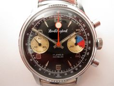 1970's Lord Romford chronograph with Valjoux 7733 movement