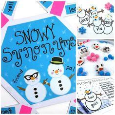 Snowy Synonyms!