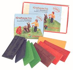 Modeling beeswax for Kids
