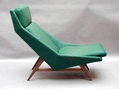 Folke Ohlsson; Lounge Chair for Dux, 1960s.