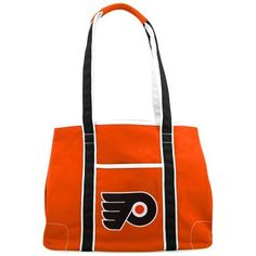 NHL Philadelphia Flyers Hampton Tote bag by Concept 1. $18.53. The Hampton bag is a sporty accessory, great for the weekends, running errands or for going away. It offers space for your purchases while you show off your favorite college team.