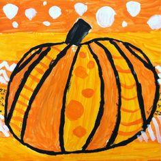 Pumpkin inspiration: Pumpkins inspired by artist Romero Britto