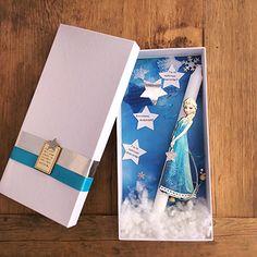 Πασχαλινή Λαμπάδα Elsa Frozen Elsa Frozen, Easter, Candles, Gifts, Elsa From Frozen, Presents, Easter Activities, Candy, Favors