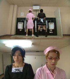 hana kimi - where nothing is considered too strange. Japanese Drama, Japanese Boy, Live Action, Good Anime To Watch, Shun Oguri, She's The Man, Dramas, Drama Funny, Korean Shows