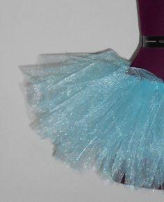 Ice Blue Tutu Adult Medium by BethSophia on Etsy
