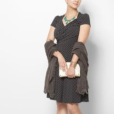 Love a polka-dotty dress!
