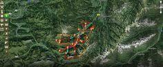 Interaktive Karten der Urlaubsregion Kleinwalsertal