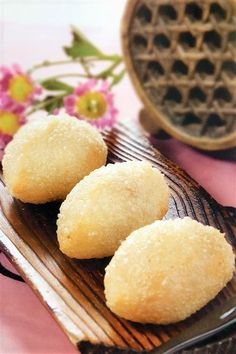 Cute and Crispy Deep-Fried Dumplings Served in a Cantonese Dim Sum House Dim Sum, Fry Dumpling Recipe, Fried Dumplings, Dessert Dishes, Tasty Dishes, Sticky Rice Recipes, Wonton Recipes, Authentic Chinese Recipes, Fried Pork