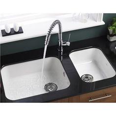 Astracast Lincoln White Ceramic Large Single Bowl Undermount Sink U0026 Chrome  Waste   560mm X 460mm