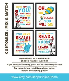 World Map Nursery Travel Nurse Dr Seuss Oh The Places You Will Go Pinterest Playroom Art And