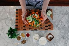 Kentucky Derby Inspired: Sweet Potato Potato Salad with Yogurt and Mint | Joy the Baker