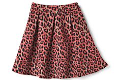 Double the cuteness of your #OOTD by rocking fierce prints in bright shades.  Leopard Skirt, $18, forever21.com   - Seventeen.com