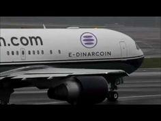 The plane E Dinar Coin