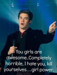 Adam DeVine from Pitch Perfect and Workaholics.In Pitch Perfect he reminds me exactly of my ex! Pitch Perfect Quotes, Pitch Perfect 2012, Pitch Perfect Movie, Picth Perfect, The Hit Girls, Mean Girls, Anna Kendrick, Funny Movies, Great Movies