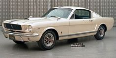 1964 Ford Mustang - A gift to Edsel Ford II by his father, Henry Ford II, on the occasion of his 16th birthday Dec. 27, 1964.