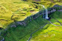 Aerial Landscapes of Iceland by Sarah Martinet. (via Breathtaking Aerial Landscapes of Iceland by Sarah Martinet Aerial Photography, Landscape Photography, Photography Tips, Digital Photography, Nature Photography, Beautiful World, Beautiful Places, Iceland Landscape, Iceland Photos