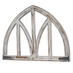 Shop for American Art Decor Whitewashed Wooden Arched Wall Decor - Farmhouse. Get free delivery On EVERYTHING* Overstock - Your Online Art Gallery Shop! Arched Wall Decor, Unique Wall Decor, Rustic Wall Decor, Wall Art Decor, Farmhouse Decor, Farmhouse Style, Modern Farmhouse, Wooden Decor, Room Decor