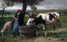 Julien Dupre    Julien Dupré (1851-1910)