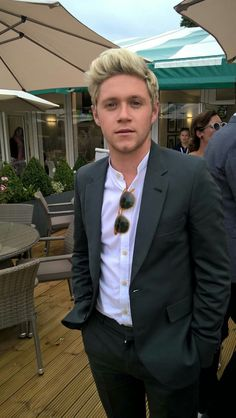 Niall at #Wimbledon yesterday