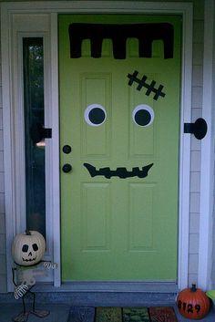Frankenstein. If your door was not already green you could wrap it in green butcher & Al Frankenu0027s killer gay Republicans joke - YouTube | Funny | Haha ... pezcame.com
