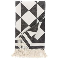 DwellStudio Henri Throw ($109) ❤ liked on Polyvore featuring home, bed & bath, bedding, blankets, dove, fringe blanket, dwellstudio bedding, light weight blankets, lightweight blanket and cotton throws
