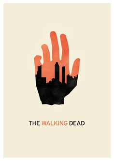 The Walking Dead poster series. See all of them here: http://www.menorquetres.com/#1472455/The-Walking-Dead