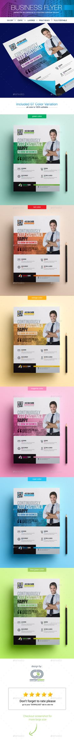 Corporate Business Flyers  — PSD Template #flyer printing #flyers template • Download ➝ https://graphicriver.net/item/corporate-business-flyers/18413963?ref=pxcr                                                                                                                                                                                 More