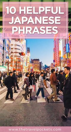 Learn some basic #Japanese with these 10 helpful phrases :) #Japan #Asia
