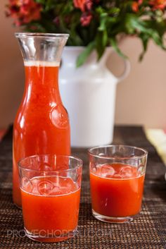 Strawberry Passionfruit Juice
