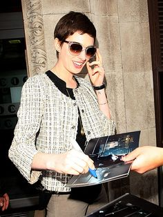 Love these shades - SHADY LADY photo | Anne Hathaway