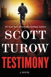 Testimony by Scott Turow. I read this for my book club. A bunch of members of the club went to see Turow speak, and bought this book and had him sign it.  I wasn't able to go, and having never read anything by Turow, didn't feel like I was missing much.  After reading this book, I know I haven't been missing much.  Members of my book club who've read other books by Turow say this isn't one of his best, but I won't be in any hurry to see if they are right and read something else by him.