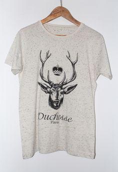 Duchesse Paris t-shirt beige men