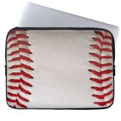 *SOLD* shipping to Sandston, VA. Baseball Sports Laptop Computer Sleeve #Baseball #Sports #Laptops #Computers #Cases