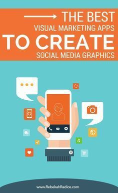 Are you using graphics in your social media posts? 7 of the best visual marketing apps to create social media graphics that POP! Digital Marketing Logo, Marketing Online, Content Marketing, Internet Marketing, Social Media Marketing, Mobile Marketing, Facebook Marketing, Business Marketing, Social Networks