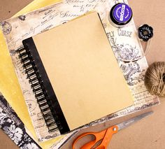DIY journal. Cute <3