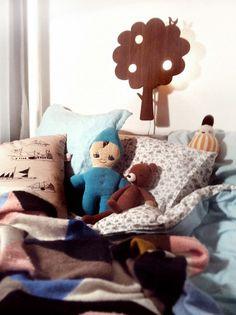Blogg för Fridas Fina | Lovely Life  Kinderkamer met Ferm Living wandlamp boom
