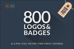 800 Logos & Badges SALE - Logos - 1