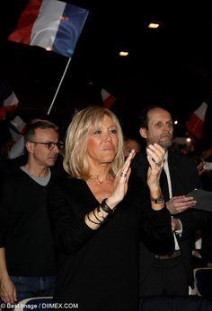 Emmanuel Macron and wife Brigitte meet supporters in Talence, France (328834)