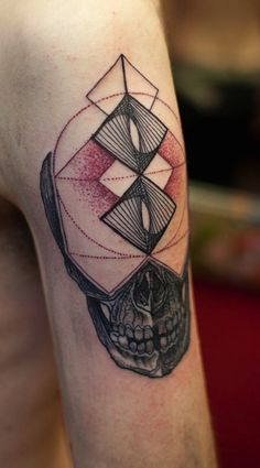 Skull + Geometric Shapes