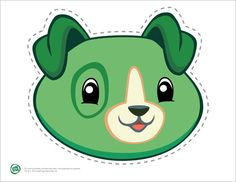 LeapFrog Printable Scout Mask- At around age 3, preschoolers begin to act out roles from stories, books and movies they know. Print and cut out these adorable masks for your Scout or Violet fan.