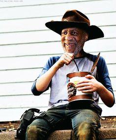 Tonight's epidosde of The Walking Dead summed up #billcarlsby #pudding