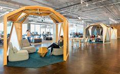 Studio O+A have designed the new offices for Cisco-Meraki in San Francisco, California.