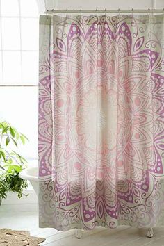 Magical Thinking Cosmic Medallion Shower Curtain - Urban Outfitters