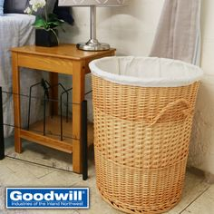 Say goodbye to those old mesh bags and plastic baskets and say hello to style! We found this amazing laundry basket that will take your dorm room style from a locker room to your dream room!