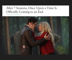 Once Upon a Time is ending !