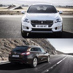 The road is its territory, but which one will conquer it with you: #Peugeot508RXH or #Peugeot508SW?  #Peugeot #Car #GrandTourer #Driving