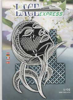 Lace Express 2002 - 01 - 30 Mb - isamamo - Álbuns da web do Picasa Irish Crochet, Crochet Lace, Macrame Wall Hanging Diy, Romanian Lace, Bobbin Lace Patterns, Manta Crochet, Lacemaking, Thread Art, Point Lace