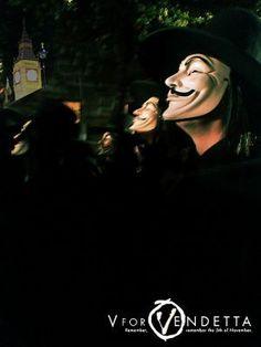V For Vendetta, Movies, Movie Posters, Art, Art Background, Film Poster, Films, Popcorn Posters, Kunst