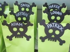 pirate party sacks