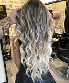 Excellent blonde balayage hair colors for long wavy hair - hairstyle . - Excellent blonde balayage hair colors for long wavy hair – hairstyle – - Brown Hair Tones, Brown Blonde Hair, Brown Hair Colors, Hair Colours, Black Hair, Ombre Hair Color, Hair Color Balayage, Cool Hair Color, Ombre Hair